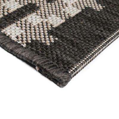 vidaXL Matta sisallook inomhus/utomhus fyrkanter 80x150 cm