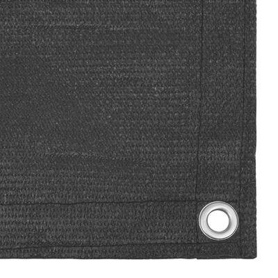 vidaXL Balkongskärm antracit 90x300 cm HDPE