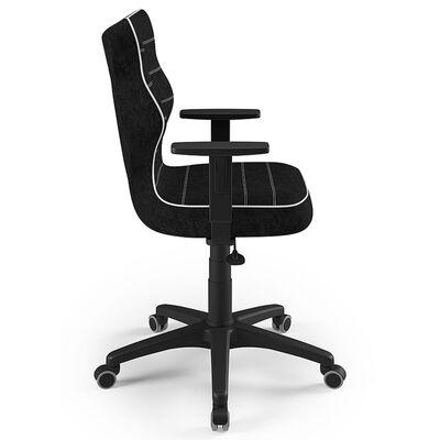 Entelo Ergonomisk skrivbordsstol för barn Duo VS01 storlek 6 svart,