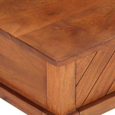 vidaXL Soffbord 100x50x41 cm massivt akaciaträ