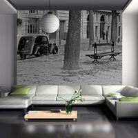 Fototapet - Peaceful Franska Gatan - 250x193 Cm