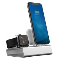 3 - 1 Laddningsstation För iPhone, Apple Watch, AirPods