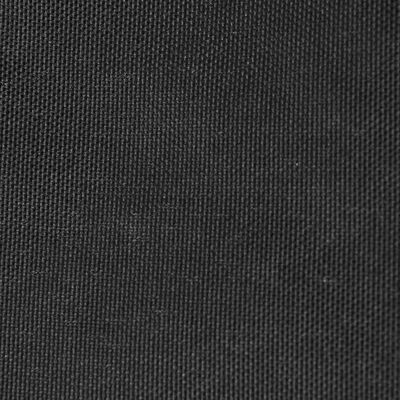 vidaXL Solsegel oxfordtyg rektangulärt 2,5x3,5 m antracit