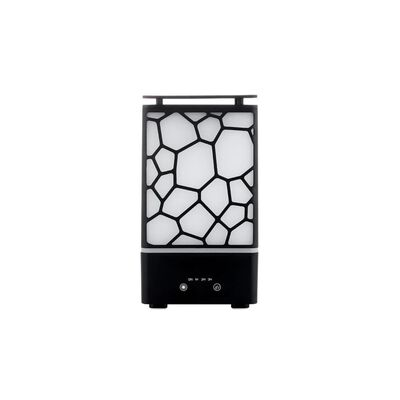 Färgglatt LED-nattlampa + Water Cube Aroma Diffuser 200ml