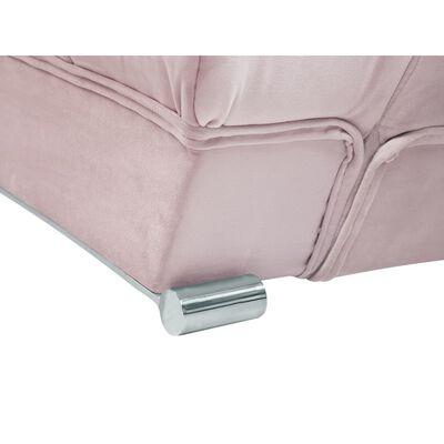 Dubbelsäng 160 x 200 cm rosa LILLE