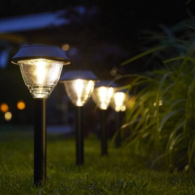 Luxform Solcellslampa Kodiak 2-pack