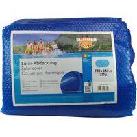 Summer Fun Solfolie ovalt 700x350 cm PE blå