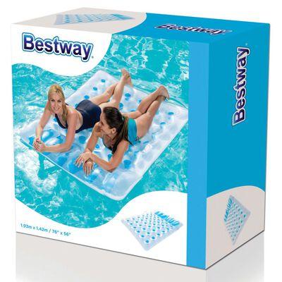 Bestway Dubbel uppblåsbar badmadrass 43055