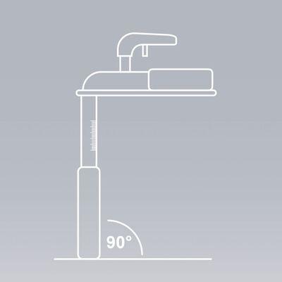 ProPlus Nos-Viktmätare med Plastbas Våg 360843