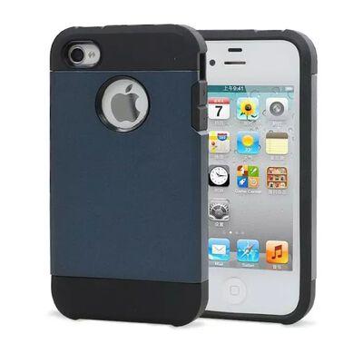 Iphone 4 4S Tough Armor Cover Skal Skydd Case Mörkblå,