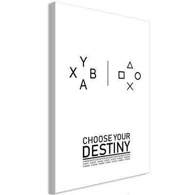 Tavla - Choose Your Destiny (1 Part) Vertical - 40x60 Cm