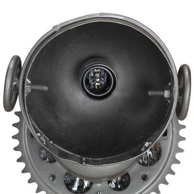 vidaXL Vägglampa med motorcykeldesign järn