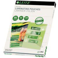 Leitz Lamineringsfickor 80 mikron A4 100-pack
