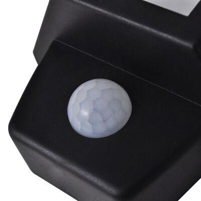 Sol Vägglampa med Rörelsedetektor 2 st