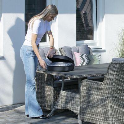 Madison Möbelöverdrag 130x130x85cm grå