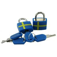 Victoria's Design Hänglås Sverige 2-pack