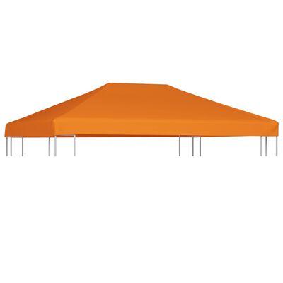 vidaXL Paviljongtak 310 g/m² 4x3 m orange