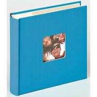 Walther Design Fotoalbum Fun Memo 10x15cm cm havsblå 200 foton