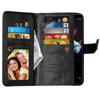 Dubbelflip Flexi 9-kort Huawei Honor 7X (BND-L21) Svart