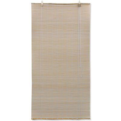 vidaXL Rullgardin bambu 150x160 cm naturlig