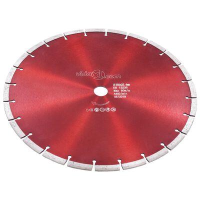 vidaXL Diamantklinga stål 350 mm