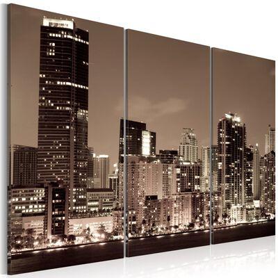 Tavla - Evening In Miami - 60x40 Cm