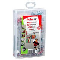 Fischer Skruvar med plugg PROFI-BOX DUOPOWER/DUOTEC 87 delar