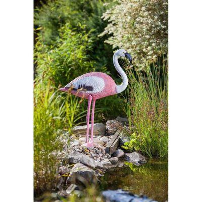 HEISSNER Dammdekoration Flamingo rosa 74 cm
