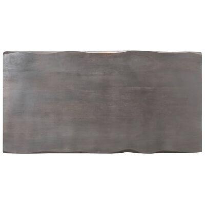 vidaXL Soffbord med levande kanter 115x60x40 cm massivt akaciaträ
