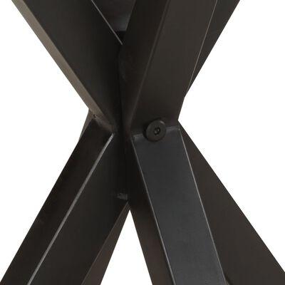 vidaXL Sidobord 48x48x56 cm massivt akaciaträ