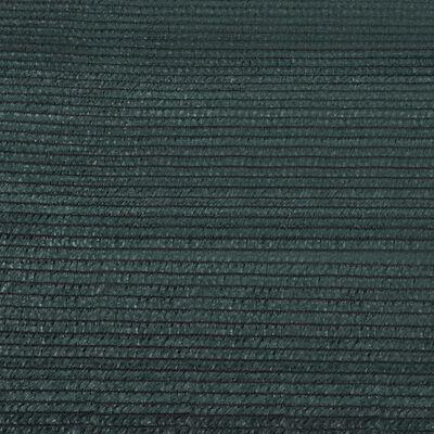 vidaXL Insynsskyddsnät HDPE grön 1x50 m