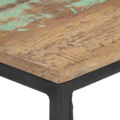 vidaXL Avlastningsbord 110x35x75 cm massivt återvunnet trä