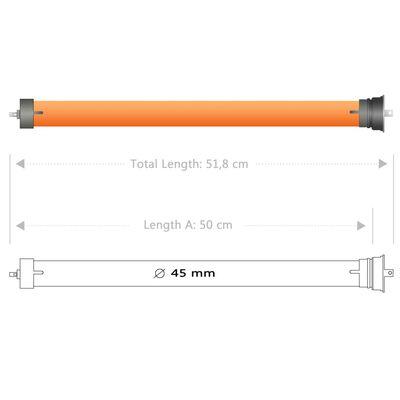 vidaXL Rörmotorer 3 st 40 Nm