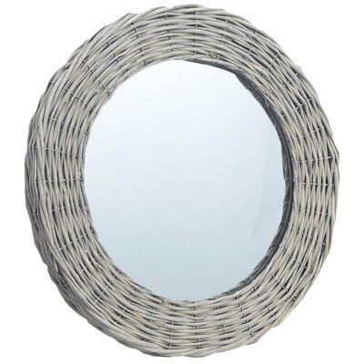 vidaXL Spegel 60 cm korgmaterial