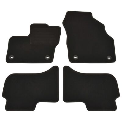 vidaXL Bilmattor set 4 delar för Toyota Mirai FCV
