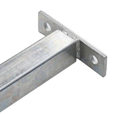 vidaXL Justerbart inkrypningsskydd för fönster 710-1200 mm