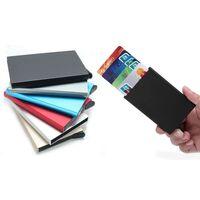 RFID Skydd Plånbok Korthållare 5st Kort