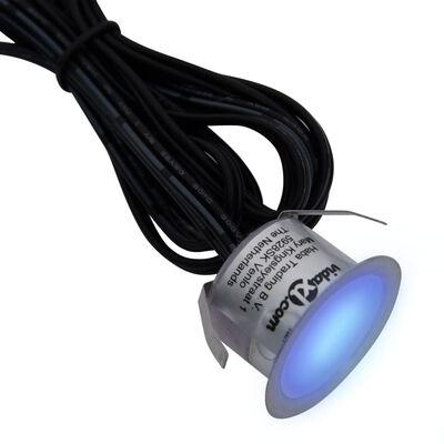 vidaXL Marklampor 20 st LED blå