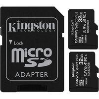 Kingston 2x 32 GB Micro SD Minneskort Canvas Select Plus 100mb/S