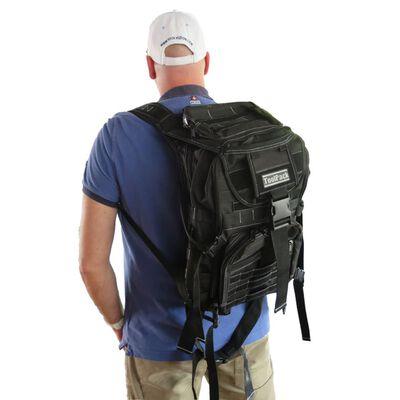 Toolpack Multifunktionell ryggsäck Budge svart 30x22x50 cm 360.106