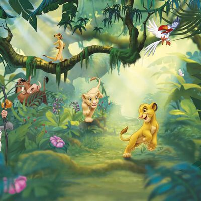 Komar Fototapet Lion King Jungle 368x254 cm