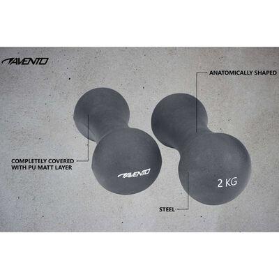 Avento Handvikt Bone 2x2 kg grå