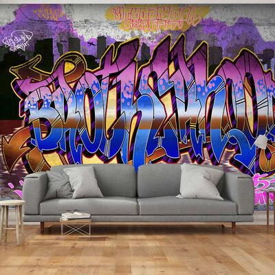 Fototapet -  Colorful Mural - 100x70 Cm