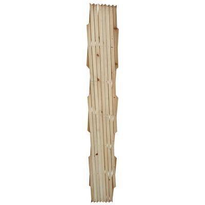 vidaXL Spaljéstaket 5 st massivt trä 180 x 90 cm