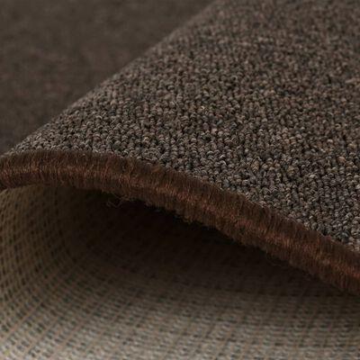 vidaXL Tuftad matta 160x230 cm brun