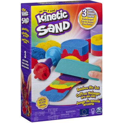 Kinetic Sand Regnbåge set