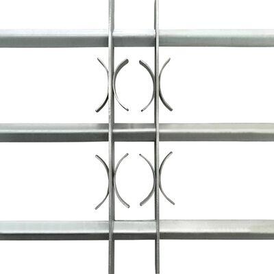 Justerbart Fönstergaller för fönster med 3 stänger 500-650 mm
