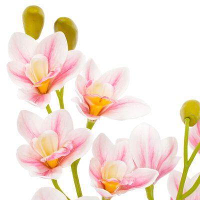 vidaXL Konstväxt Orkidé med kruka 90 cm rosa