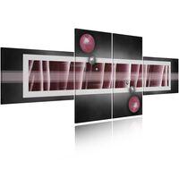 Tavla - Remote Planet - 100x40 Cm