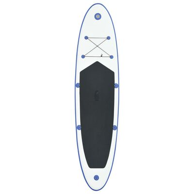 vidaXL SUP surfingbräda uppblåsbar blå och vit